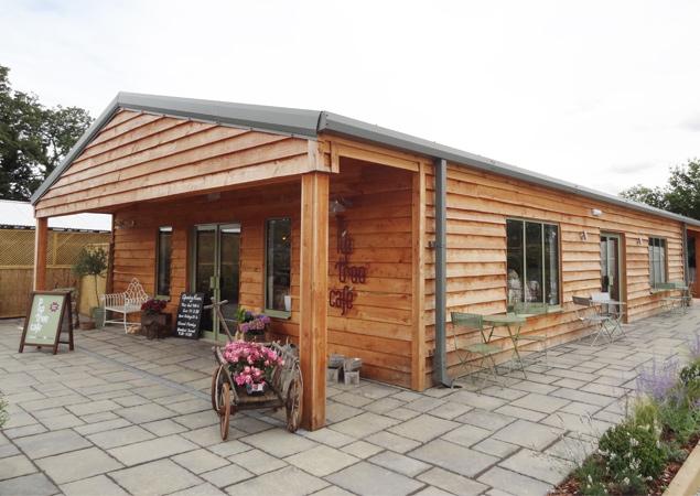 Work Starts on New Coffee Shop at Derbyshire Garden Centre
