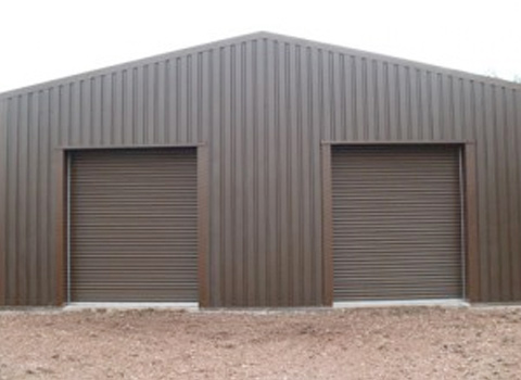 insulated steel buildings for vintage cars and mini bus garages
