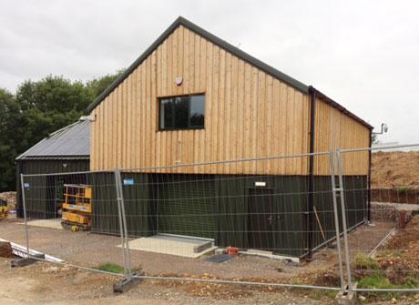 timber clad steel frame buildings