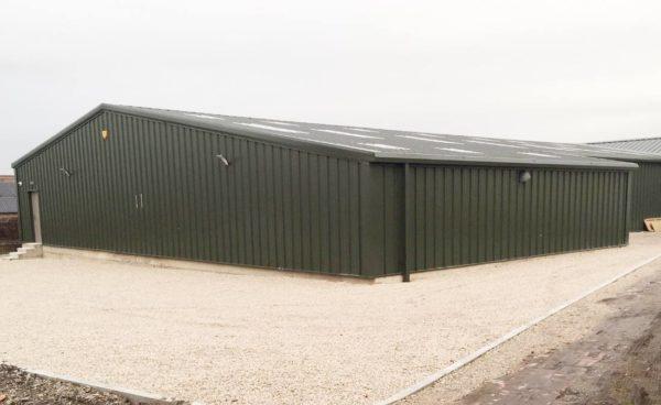 large steel storage buildings