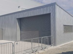 Mono Pitch Steel Shed