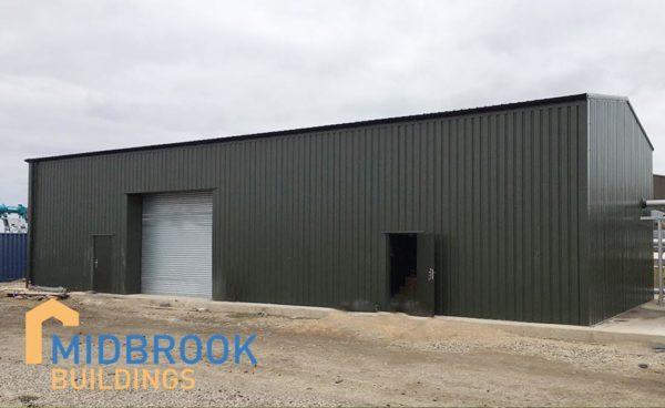 Biomass Boiler Steel Building Storage