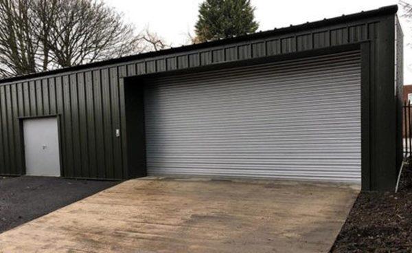 Minibus Steel Garage Building